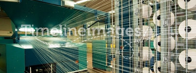 Textile industry (denim) - Weaving