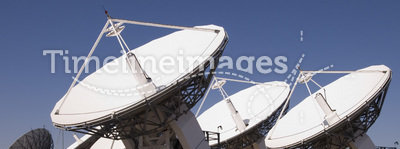 Deep Space Radio Frequency Telescopes