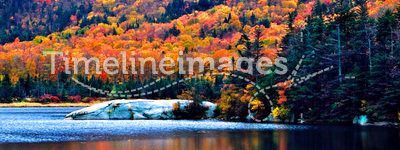 New England fall foliage