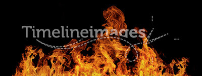 Isolated flames. Good for montage