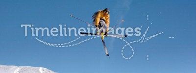 Skier mute grab
