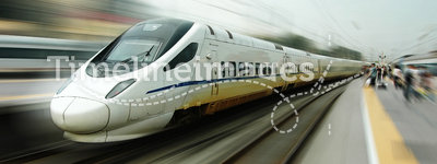 Chinese fast train