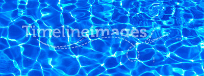 Swimming pool water texture