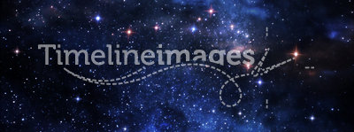 Deep space nebulae