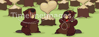 Valentine's Day of beavers