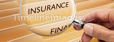 Insurance File Folders
