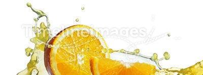 Slice in juice