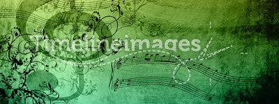 Decorative Music Notes
