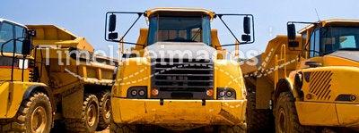 Heavy duty construction trucks