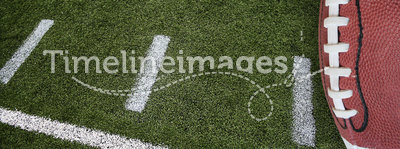 Football and field