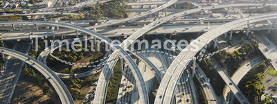 Highway interchange.