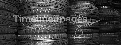 New car tyres