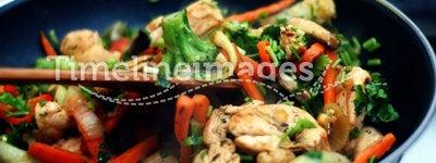 Thai food. Delicious Thai food - Stir fry