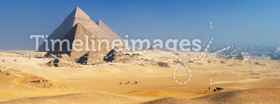 Pyramids Giza Plateau Cairo