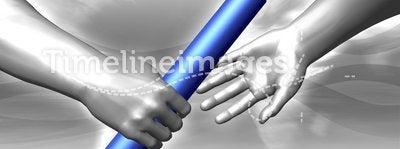 Handing the baton