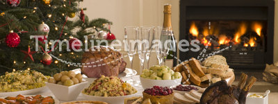 Boxing Day Buffet Lunch Christmas Tree