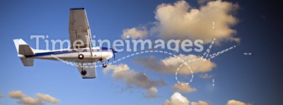 Small airplane