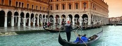 Rain in Venice