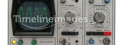 Oscilloscope isolated