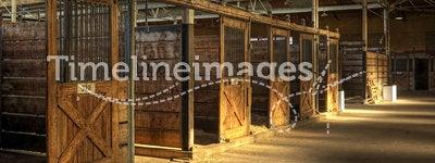 Empty Horse Barn