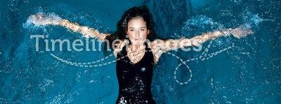 Sexy swimmer.